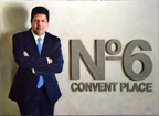 Portrait of the Chief Minister, Mr Fabian Picardo