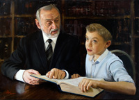 Rabbi teaching